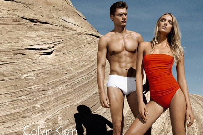 CAMPAIGN- Lily Donaldson, Danny Beauchamp & Vladimir Ivanov for Calvin Klein White Label Spring 2012 by Sebastian Kim. www.imageamplified.com, Image Amplified1
