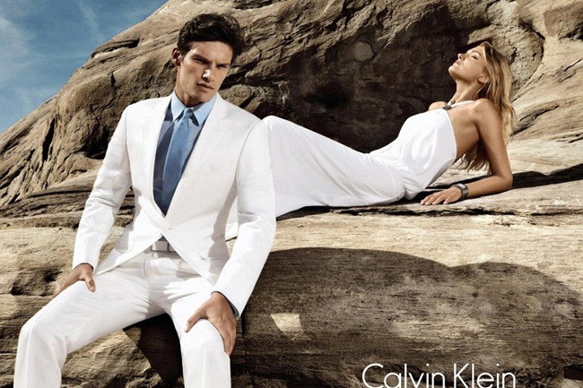 CAMPAIGN- Lily Donaldson, Danny Beauchamp & Vladimir Ivanov for Calvin Klein White Label Spring 2012 by Sebastian Kim. www.imageamplified.com, Image Amplified7