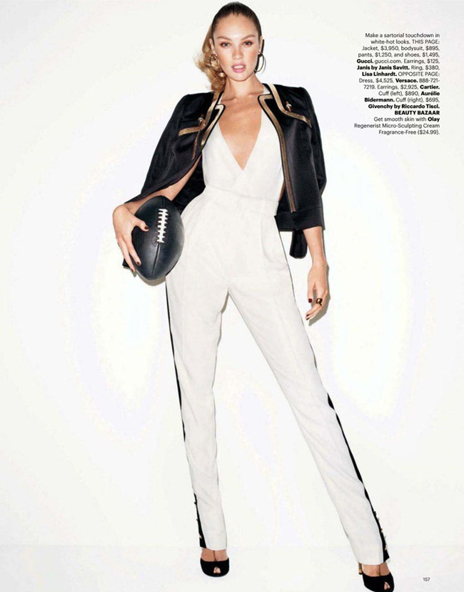 HARPER'S BAZAAR MAGAZINE Candice Swanepoel in Game On by Terry Richardson. Brana Wolf, February 2012, www.imageamplified.com, Image Amplified (4)