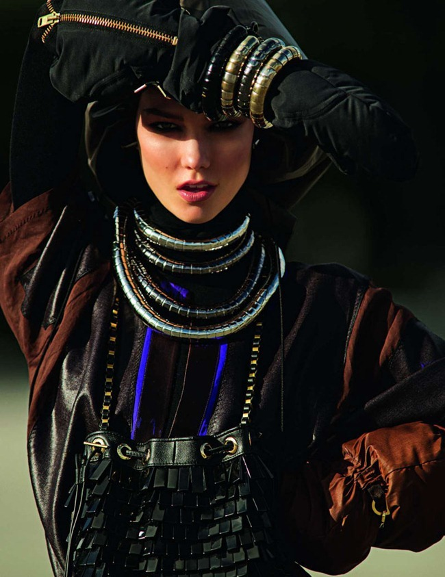 VOGUE PARIS- Karlie Kloss by Hans Feurer. Marie Chaix, March 2012, www.imageamplified.com, Image Amplified