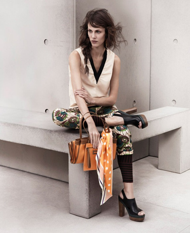 LOOKBOOK- Aymeline Valade for Marni at H&M Spring 2012 by Josh Olins. www.imageamplified.com, Image Amplified8