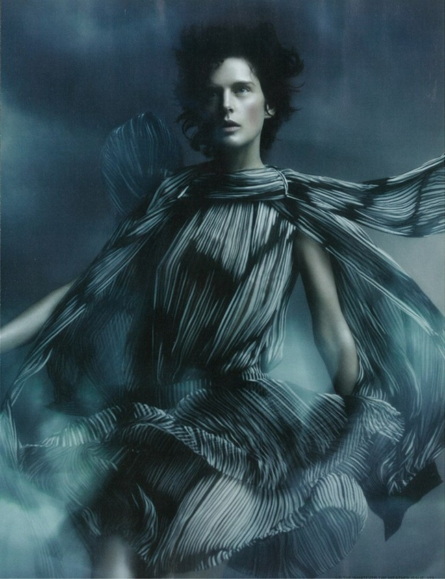 I-D MAGAZINE- Stella Tennant  in Gale-Force Winds Up to 80MPH, Feak Rain, Widespread Flooding by Sølve Sundsbø. Charlotte Stockdale, Spring 2012, www.imageamplified.com, Image Amplified1 (1)