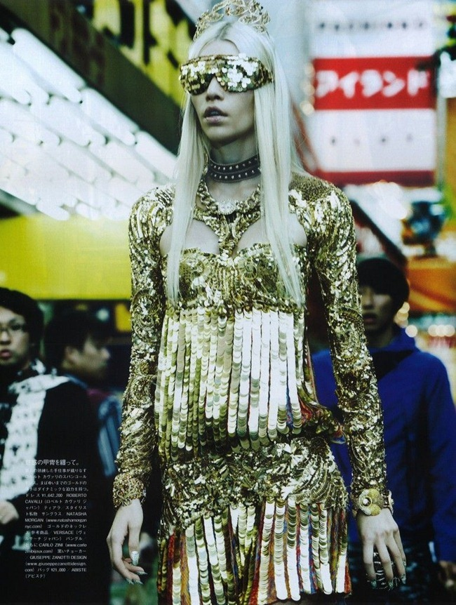 VOGUE JAPAN- Aline Weber in The Girl Who Rocks the Planet by Giampaolo Sgura. Anna Dello Russo, April 2012, www.imageamplified.com, Image Amplified6