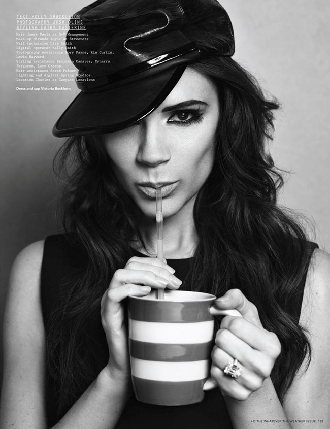 I-D MAGAZINE- Victoria Beckham in Walking On Sunshine by Josh Olins. Cathy Kasterine, Spring 2012, www.imageamplified.com, Image Amplified4