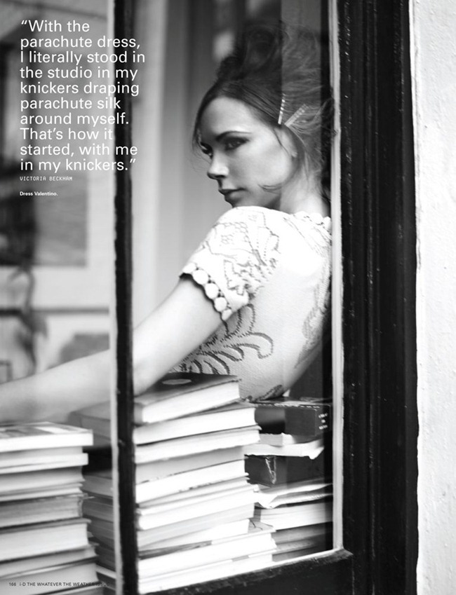 I-D MAGAZINE- Victoria Beckham in Walking On Sunshine by Josh Olins. Cathy Kasterine, Spring 2012, www.imageamplified.com, Image Amplified6