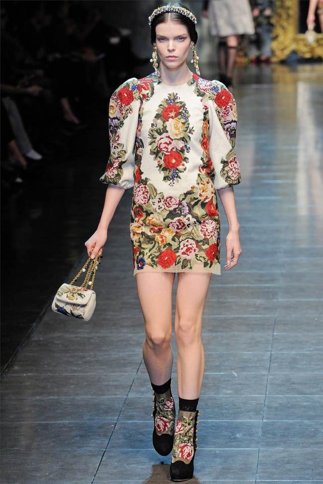 MILAN FASHION WEEK Dolce &  Gabbana Fall 2012. www.imageamplified.com, Image Amplified (13)