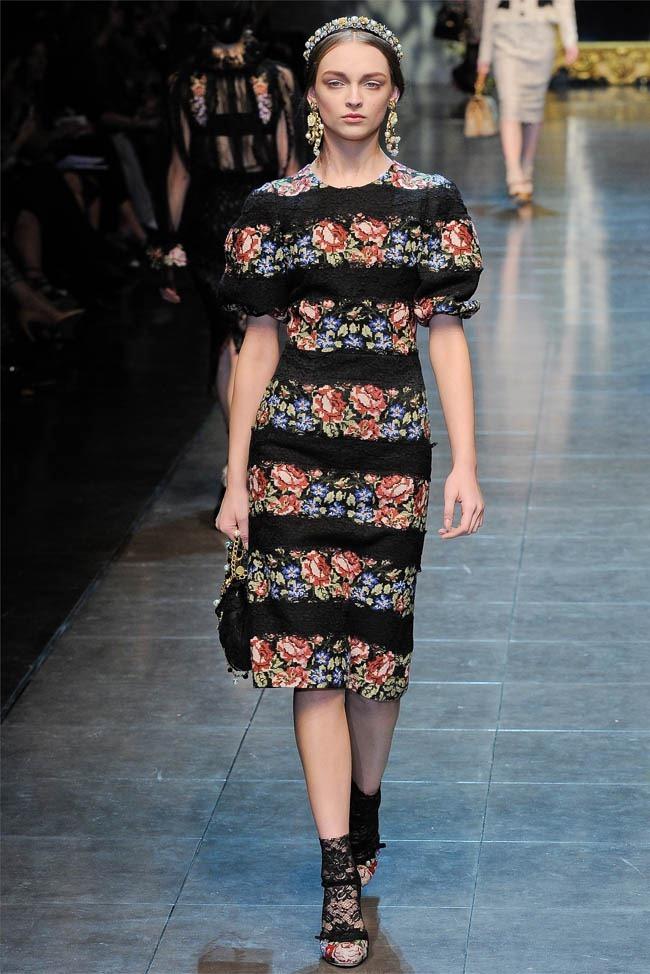 MILAN FASHION WEEK Dolce &  Gabbana Fall 2012. www.imageamplified.com, Image Amplified (19)