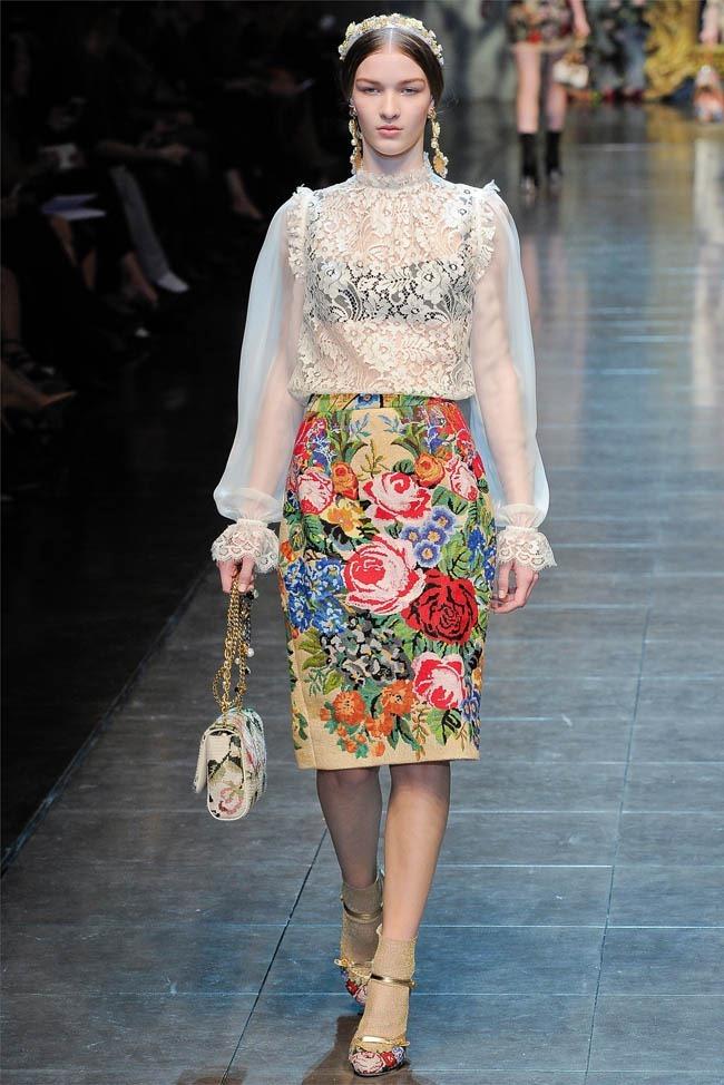 MILAN FASHION WEEK Dolce &  Gabbana Fall 2012. www.imageamplified.com, Image Amplified (20)
