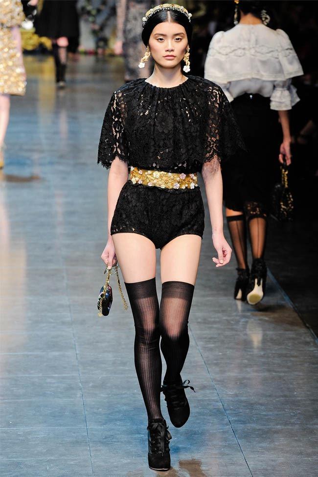 MILAN FASHION WEEK Dolce &  Gabbana Fall 2012. www.imageamplified.com, Image Amplified (26)