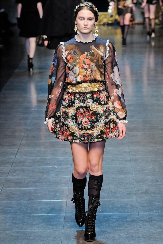 MILAN FASHION WEEK Dolce &  Gabbana Fall 2012. www.imageamplified.com, Image Amplified (36)