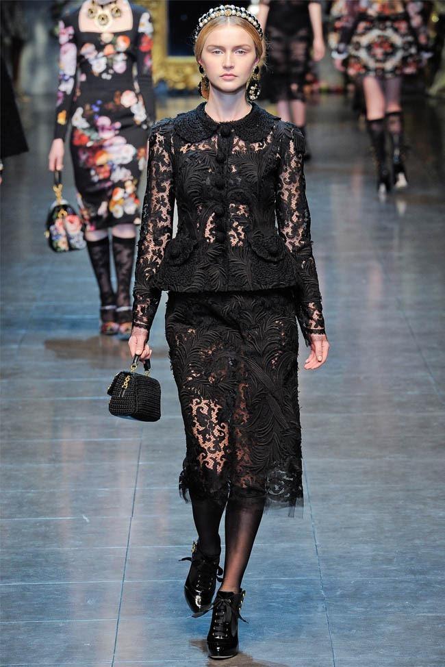 MILAN FASHION WEEK Dolce &  Gabbana Fall 2012. www.imageamplified.com, Image Amplified (38)