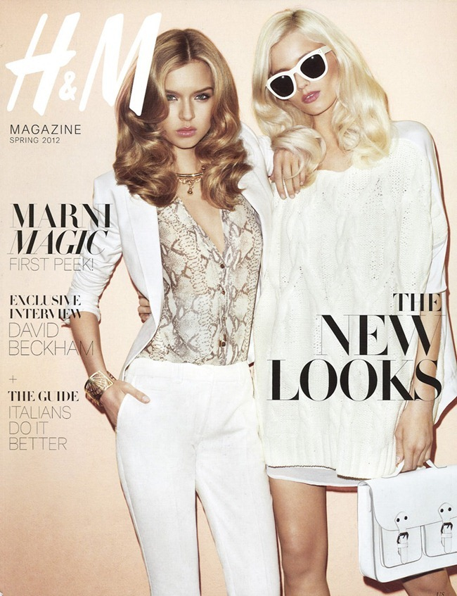 H&M MAGAZINE Abbey Lee Kershaw & Josephine Skriver in Ready Steady Gold by Terry Richardson. Julia Von Boehm, Spring 2012, www.imageamplified.com, Image Amplified (6)