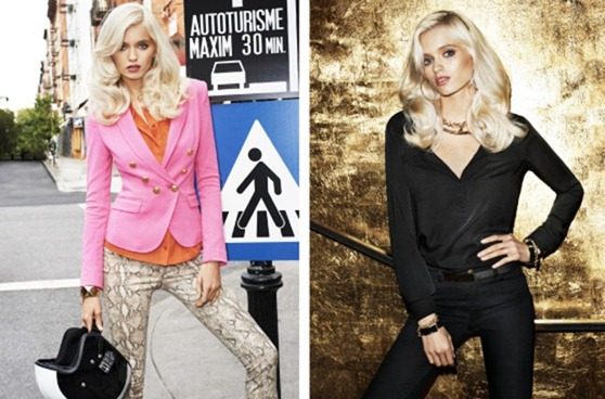 H&M MAGAZINE Abbey Lee Kershaw & Josephine Skriver in Ready Steady Gold by Terry Richardson. Julia Von Boehm, Spring 2012, www.imageamplified.com, Image Amplified (3)