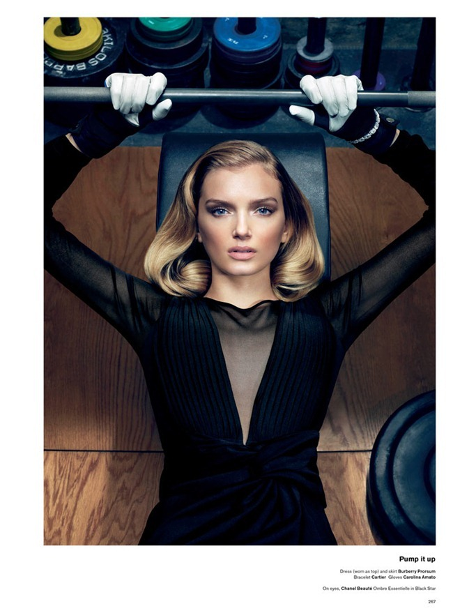 V MAGAZINE Lily Donaldson in She Better Work (Out) by Sharif Hamza. Tom Van Dorpe, www.imageamplified.com, Image Amplified (3)