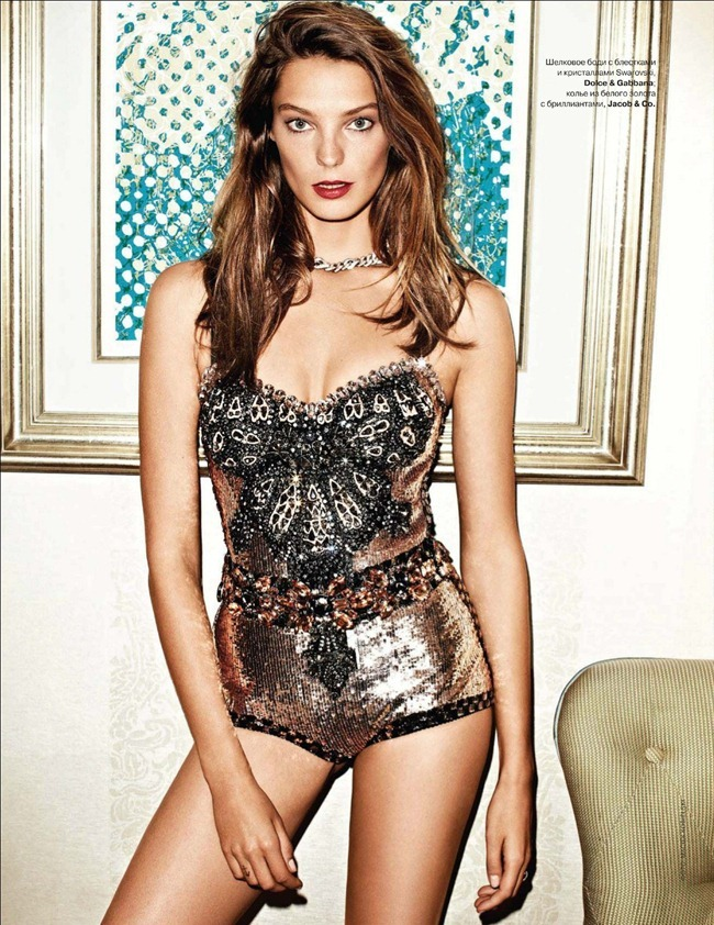 TATLER RUSSIA- Daria Werbowy by Maciek Kobielski. March 2012, www.imageamplified.com, Image Amplified6