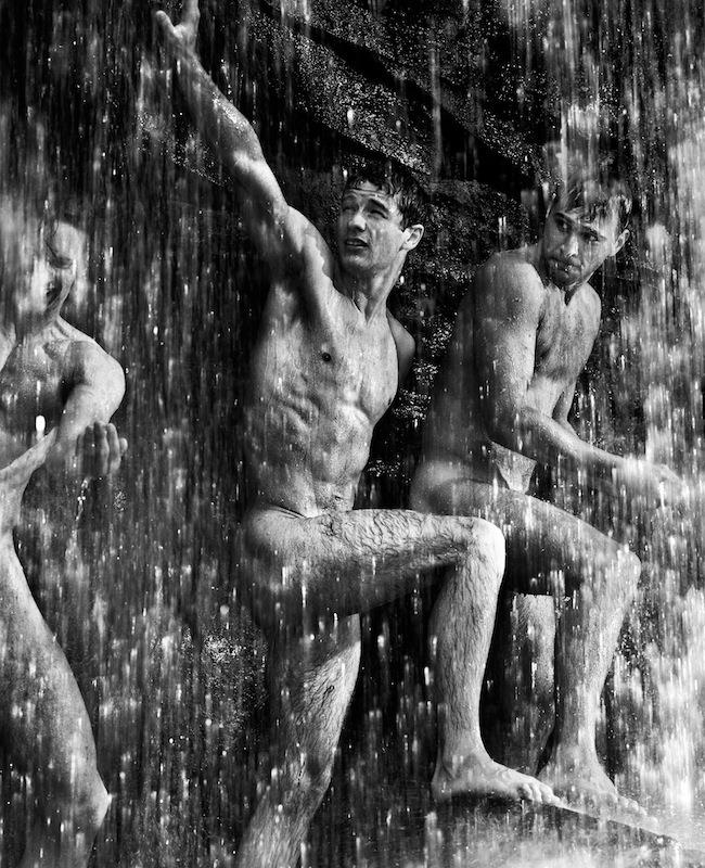 MASCULINE DOSAGE: Wet Men by Photographer François Rousseau