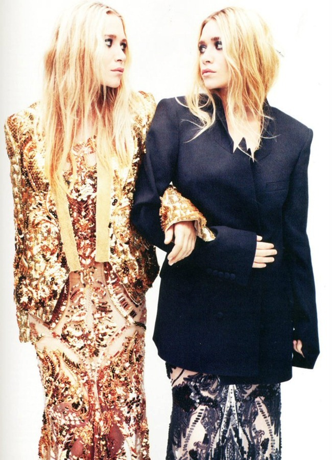 ELLE UK- Mary-Kate & Ashley Olsen in One Vision by Alexi Hay. April 2012, Anne-Marie Curtis, www.imageamplified.com, Image Amplified1