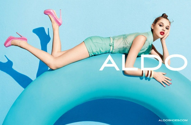 CAMPAIGN Anais Pouliot for Aldo Spring 2012 by Terry Richardson. Sabina Schreder, www.imageamplified.com, Image Amplified (3)