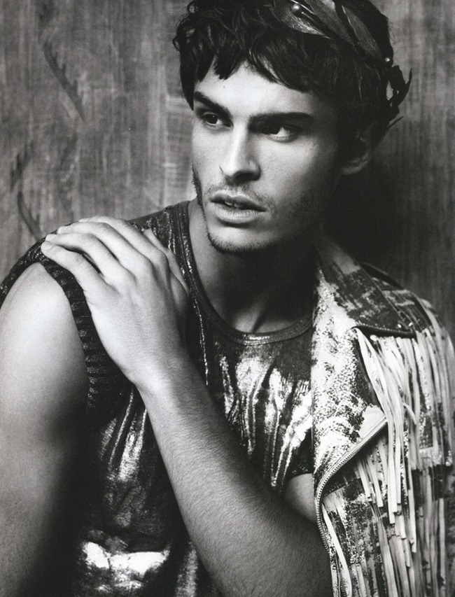 NUMERO HOMME Baptiste Giabiconi by Karl Lagerfeld. Spring 2012, www.imageamplified.com, Image Ampilfied (3)