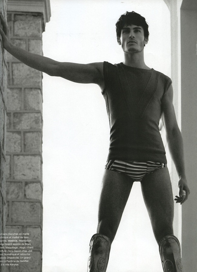 NUMERO HOMME Baptiste Giabiconi by Karl Lagerfeld. Spring 2012, www.imageamplified.com, Image Ampilfied (4)