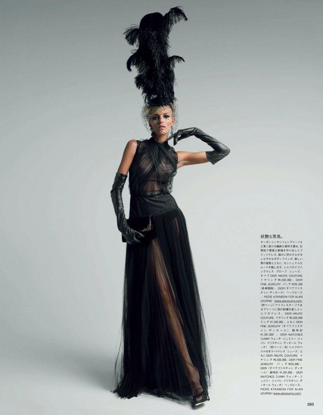 VOGUE JAPAN- Anja Rubik in Couture To Adore by Patrick Demarchelier. Anna Dello Russo, www.imageamplified.com, Image Amplified (2)