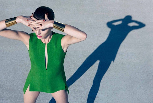 HARPER'S BAZAAR UK- Ieva Laguna in Bright Star by Camilla Akrans. Franck Benhamou, May 2012, www.imageamplified.com, Image Amplified