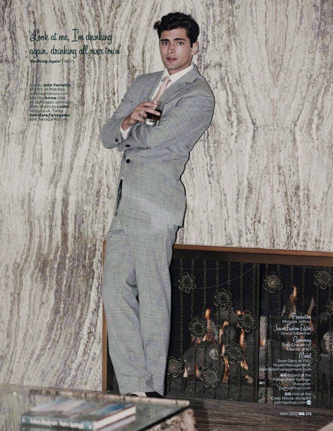 GQ UK Sean O'Pry in Being Frank by Guy Aroch. Jo Levin, www.imageamplified.com, Image Amplified (4)