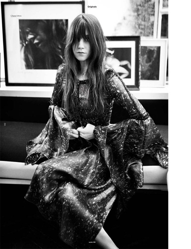 OYSTER MAGAZINE Charlotte Gainsbourg by Will Davidson. Stevie Dance, www.imageamplified.com, Image Amplified (4)