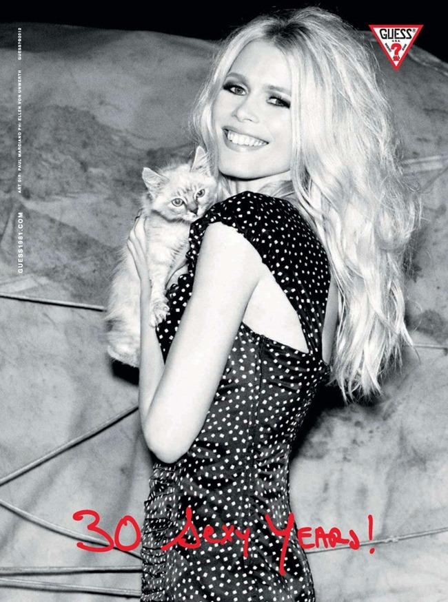 CAMPAIGN Claudia Schiffer for Guess 30th Anniversary by Ellen von Unwerth. www.imageamplified.com, Image Amplified (12)