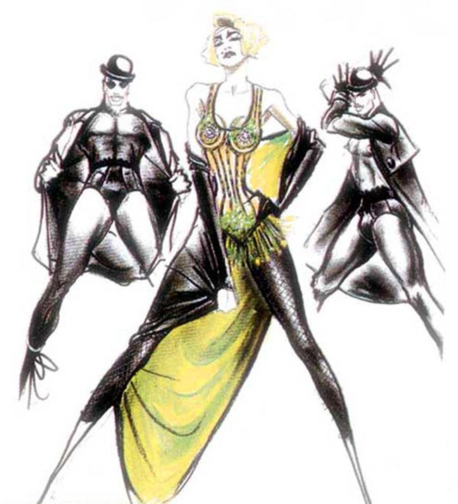 WE ♥ JEAN PAUL GAULTIER- Madonna's Blond Ambition Tour Sketches by Jean Paul Gaultier. www.imageamplified.com, Image Amplified (6)