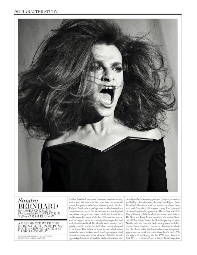 INTERVIEW MAGAZINE- Sandra Bernhard by Sebastian Kim. www.imageamplified.com, Image Amplified (2)