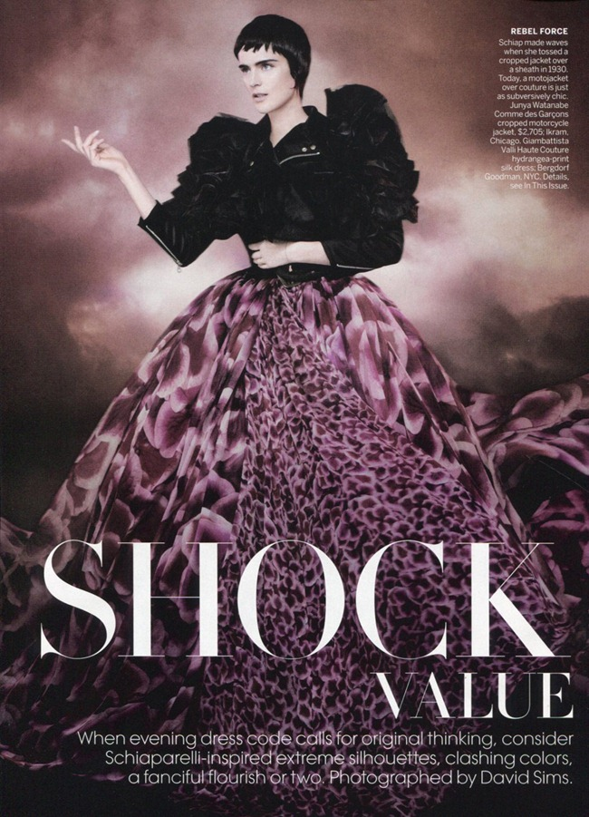 VOGUE MAGAZINE Stella Tennant in Shock Value by David Sims. Camilla Nickerson, May 2012, www.imageamplified.com, Image Amplified (2)