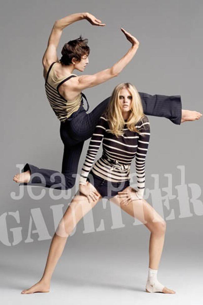 WE ♥ JEAN PAUL GAULTIER Lara Stone for Jean Paul Gaultier Spring 2009 by Inez & Vinoodh. www.imageamplified.com, Image Amplified (3)