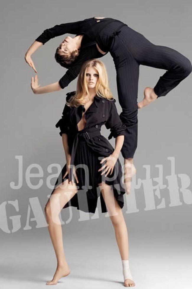 WE ♥ JEAN PAUL GAULTIER Lara Stone for Jean Paul Gaultier Spring 2009 by Inez & Vinoodh. www.imageamplified.com, Image Amplified (1)