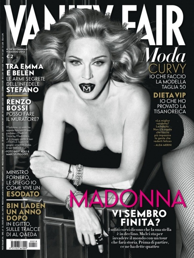 PREVIEW Madonna for Vanity Fair Italia #18, May 2012, www.imageamplified.com, Image Amplified (1)