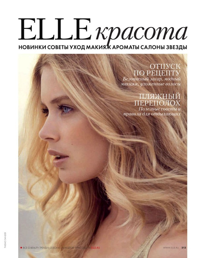 ELLE RUSSIA Doutzen Kroes by Thiemo Sander. Claire Sibille, June 2012, www.imageamplified.com, Image Amplified (2)