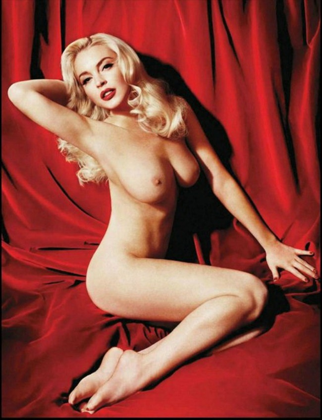 PREVIEW- Lindsay Lohan Nude for Playboy, January 2012 by Yu Tsai. www.imageamplified.com, Image Amplified3