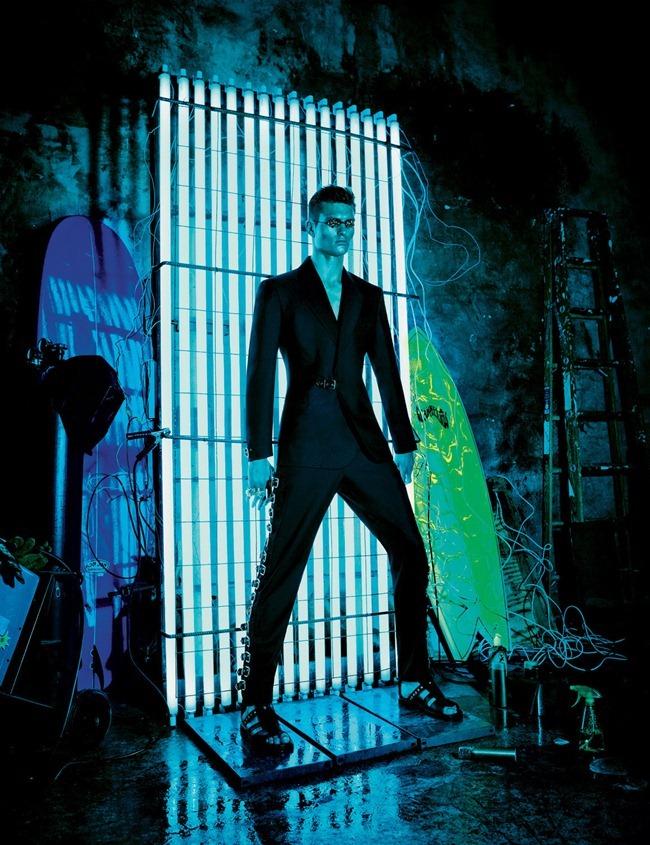 INTERVIEW MAGAZINE- Karmen Pedaru & Donatella Versace in Versace Spring 2012 by Patrick Demarchelier. Karl Templer, December 2011, www.imageamplified.com, Image Amplified3
