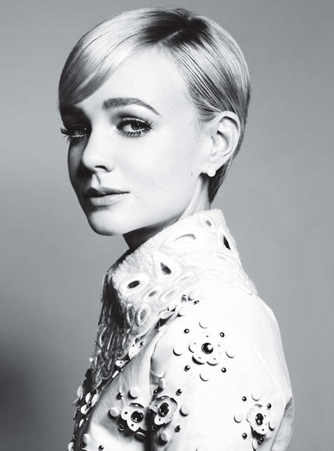 W MAGAZINE- Carey Mulligan in Carey, Carey, Quite Contrary by Michael Thompson. Edward Enninful, January 2012, www.imageamplified.com, Image Amplified0