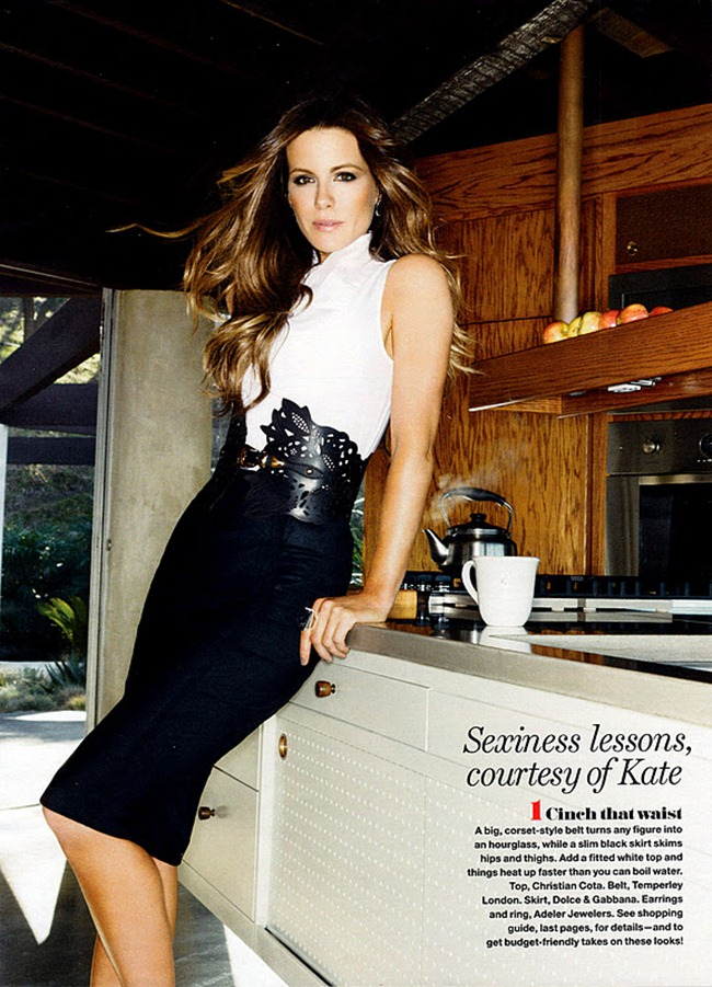 FASHION PHOTOGRAPHY- Kate Beckinsale for Redbook, January 2012. www.imageamplified.com, Image Amplified9