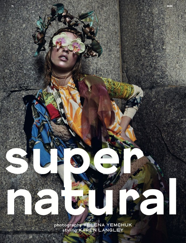 DAZED & CONFUSED MAGAZINE- Julia Frauche in Super Natural by Yelena Yemchuk. Karen Langley, January 2012, www.imageamplified.com, Image Amplified7