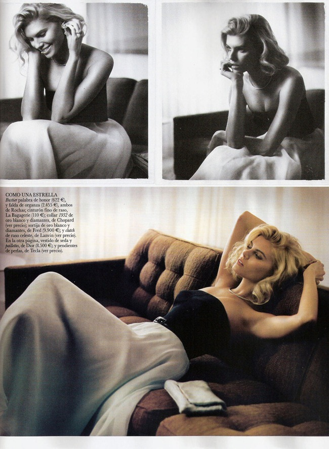 VOGUE SPAIN- Maryna Linchuk in Siempre Grace by Vincent Peters. Barbara Baumel, Belen Antolin, January 2012, www.imageamplified.com, Image Amplified4