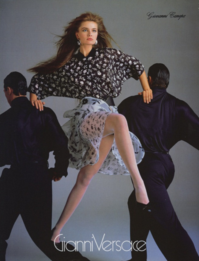 WE ♥ VERSACE- Cindy Crawford & Christy Turlington for Versace Spring 1987 by Richard Avedon. www.imageamplified.com, Image Amplified1