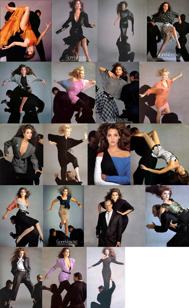 WE ♥ VERSACE- Cindy Crawford & Christy Turlington for Versace Spring 1987 by Richard Avedon. www.imageamplified.com, Image Amplified0