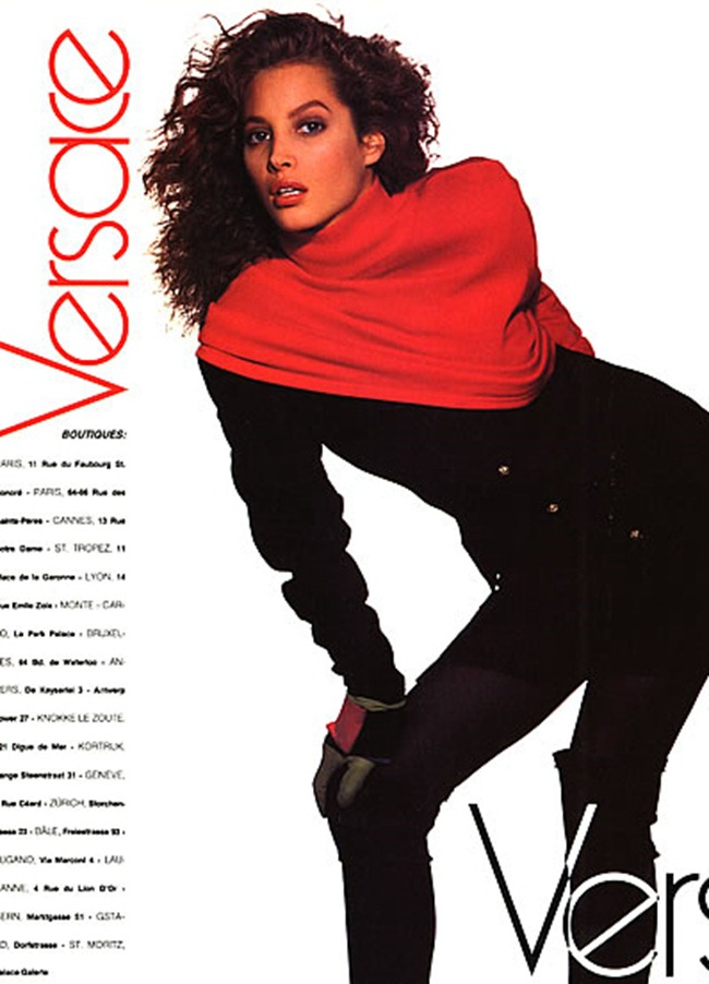 WE ♥ VERSACE- Christy Turlington for Versace Fall 1988. www.imageamplified.com, Image Amplified2