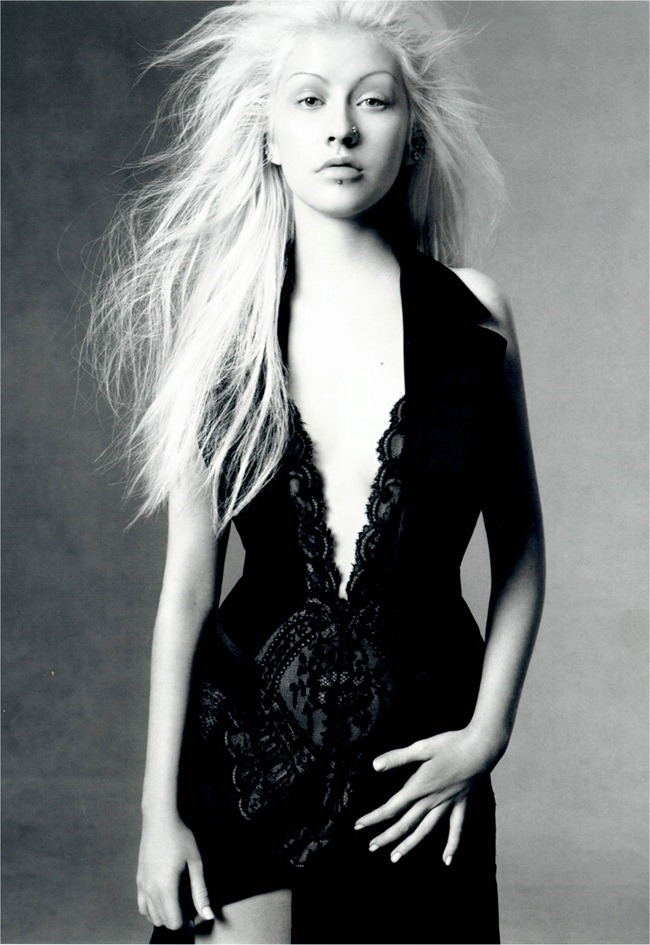 WE ♥ VERSACE- Christina Aguilera for Versace Fall 2003 by Steven Meisel. www.imageamplified.com, Image Amplified6