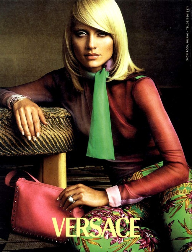 WE ♥ VERSACE- Amber Valletta for Versace Spring 2000 by Steven Meisel. www.imageamplified.com, Image Amplified4