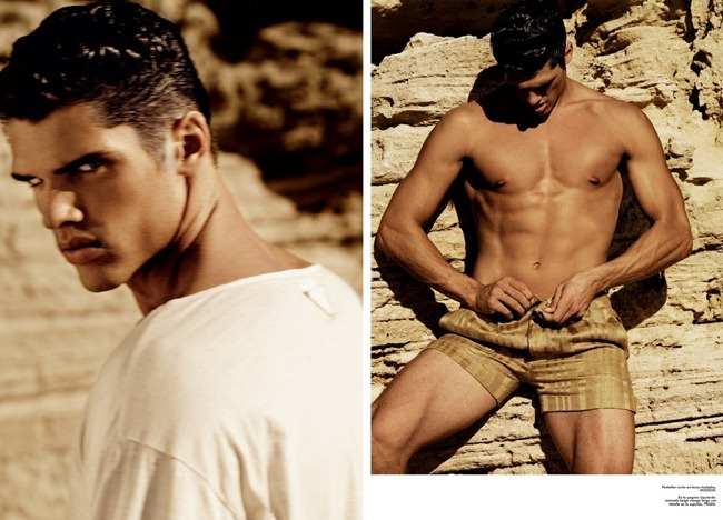 MASCULINE DOSAGE- Brian Shimansky in Live Flesh for Hercules Spring 2009 by Giampaolo Sgura. David Vavirido, www.imageamplified.com, Image Amplified2
