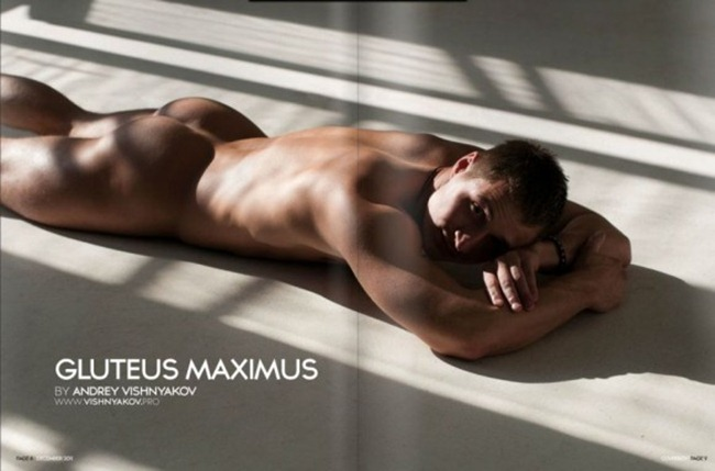 COVERBOY MAGAZINE- Gluteus Maximus by Andrey Vishnyakov. www.imageamplified.com, Image Amplified3
