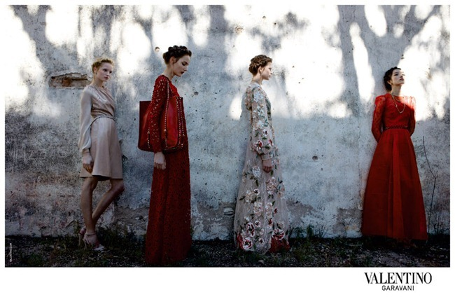 CAMPAIGN- Bette Franke, Fei Fei Sun, Zuzanna Bijoch & Maud Welzen for Valentino Spring 2012 by Deborah Turbeville. www.imageamplified.com, Image Amplified2